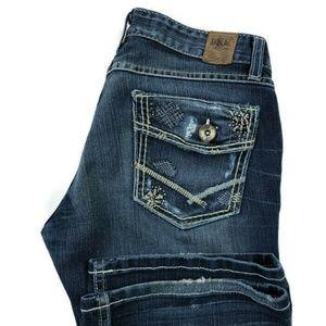 BKE Buckle Stella Bootcut Stretch Blue Jeans